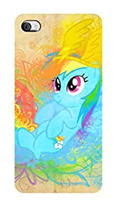 SWAG my CASE PRINTED BACK COVER FOR APPLE IPHONE 4S/APPLE IPHONE 4 Multicolor