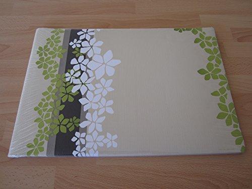 Verde Zen manteles individuales de papel (100unidades)