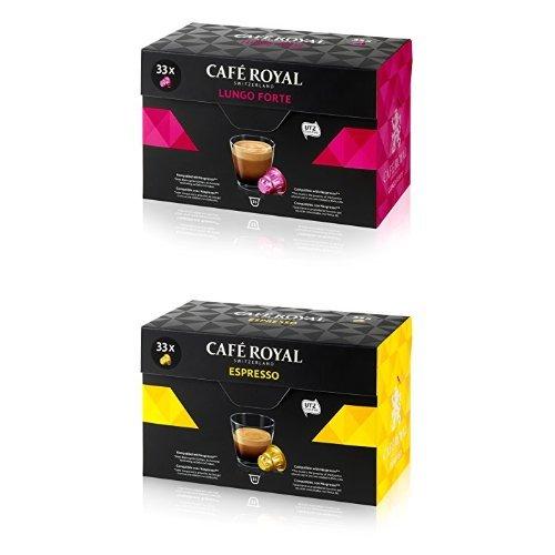 Café Royal 132 Kapseln, 132 Nespresso kompatible Kapseln, Mix Lungo & Espresso