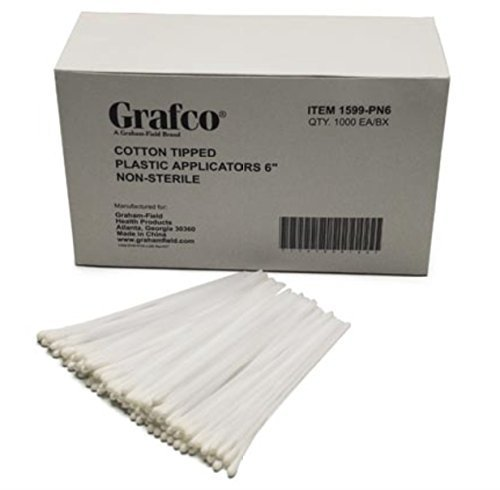 q-tips-cotton-tipped-applicators-non-sterile-size-6-inches-1000-ea-box-by-grafco