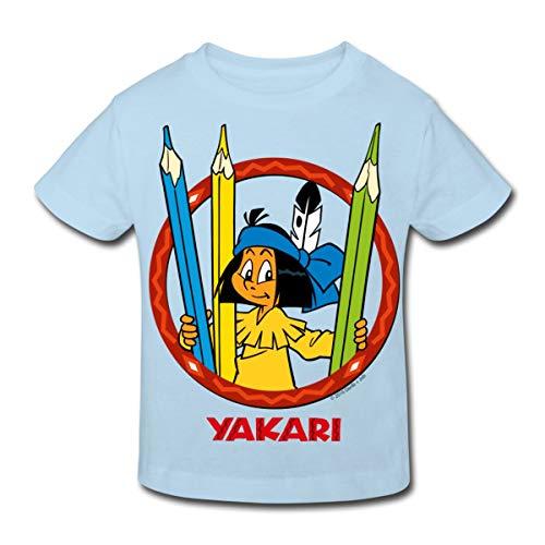 untstifte Kinder Bio-T-Shirt, 152 (11-12 Jahre), Hellblau ()