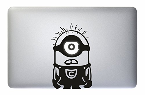 Just Go Online Aufkleber MacBook Minions - MacBook Laptop Decal Sticker Apple Love Vinyl Mac Pro Air Retina 11