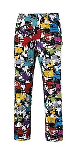 5693e24e59 GIBLOR'S Pantaloni Cuoco Fantasia Alan