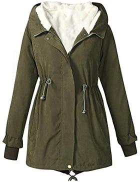 Abrigo Vovotrade Abrigo largo con capucha de las mujeres
