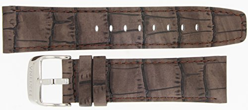 Festina Ersatzband Uhrenarmband Leder Band Fliegerbandoptik 23mm Braun F16573/4 F16573/