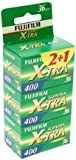 Fujifilm Superia X-TRA 400 36 Exposure Film - Pack of 3