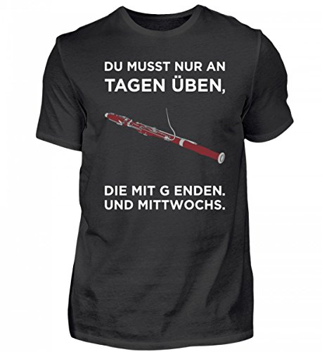 Chorchester Hochwertiges Herren Shirt - Fagott Spieler Aufgepasst!