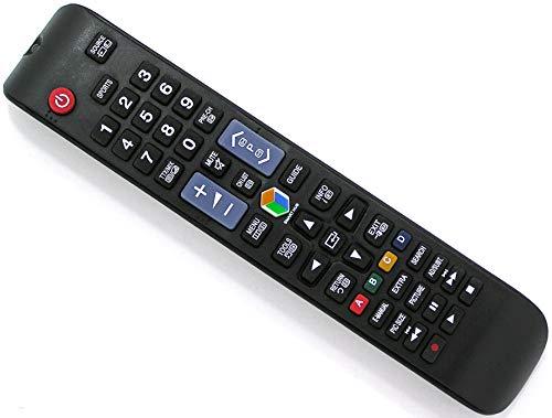 Ersatz Fernbedienung for Samsung TV | UE60J6200AWXZF | UE60J6202 | UE60J6202AK | UE60J6250 | UE60J6250SU | UE60J6250SU/XZG |
