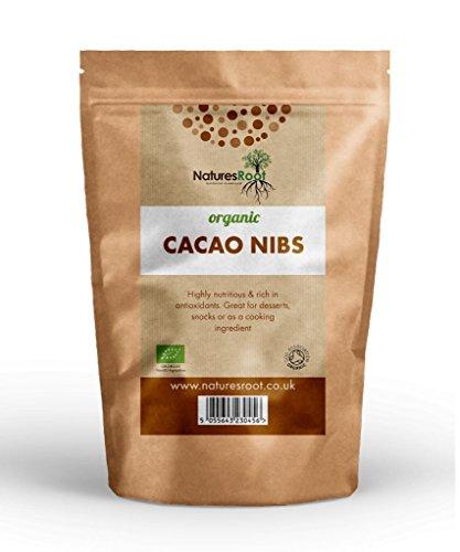 Super Smoothie Mix (Natures Root Biologische Kakao Nibs - DER CRIOLLO ART | HERGESTELLT AUS DEN HOCHWERTIGSTEN KAKAOBOHNEN | SUPER ANTIOXIDANT)