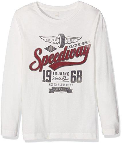 Esprit Kids Baby-Jungen T-Shirt RI1013G, Weiß (OFF WHITE 110), Gr. 134 (Herstellergröße:  XS)
