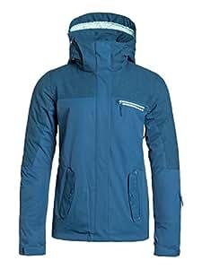 Roxy jetty solid veste de ski pour femme XS Bleu - bleu