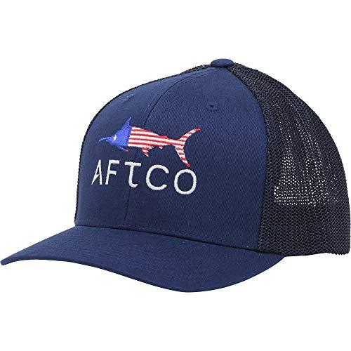 AFTCO Mütze Meric Flexfit Navy S/M Aftco Hat