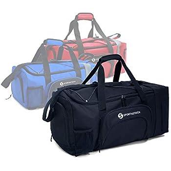 Sportastisch EXCELENTE: :: Bolsa Deporte Premium Sporty Bag Bolsa de Viaje con Compartimento para Zapatillas, Correa para el Hombro y Bolsillo para ...