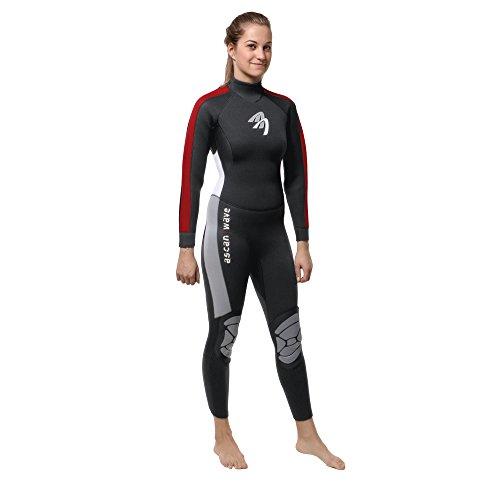 ASCAN Overall 5 mm Wave Semidry Neoprenanzug Surfanzug… | 04049573580409