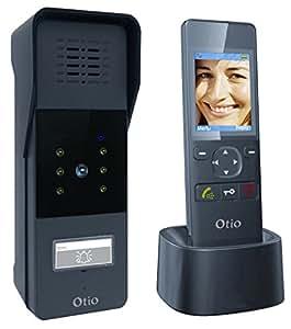 Otio - Portier vidéo couleur sans fil 120m