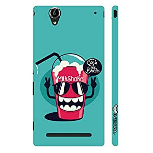 Enthopia Designer Hardshell Case Brain In My Shake Back Cover for Sony Xperia T2 Ultra