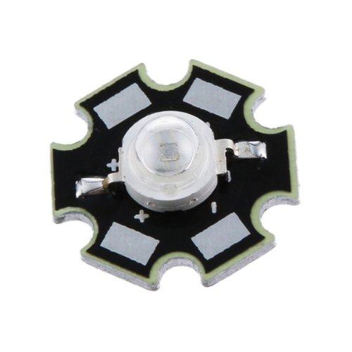 10Stk.3W hoch Power star LED Licht Lampe Birne (Rot) (Drei-birne Hoch)