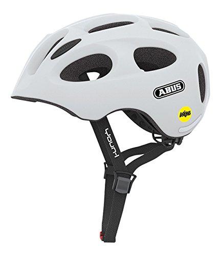 Abus Youn-I MIPS Fahrradhelm, Polar Matt, 52-57 cm