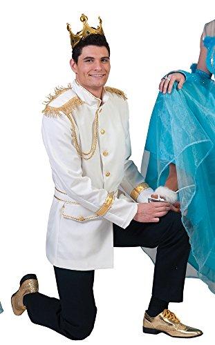 Prinz Charming Kostüm für Herren Gr. 48 ()