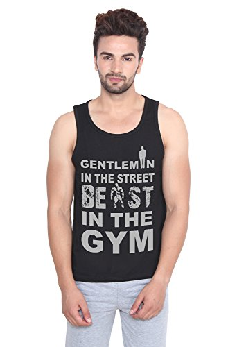 Printing Geeks Men stretchable Tank Top/Vest With Free Shipping
