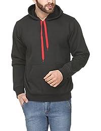 Scott Men's Premium Rich Cotton Pullover Hoodie Sweatshirt - Black