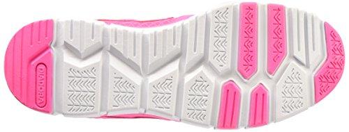 Diadora - Hawk 4, Sneaker Unisex - Adulto Rosa Fluo/Bianco