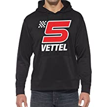 Hotfuel Vettel 5 Motif Hoodie. Toutes tailles (Small - 5XL)