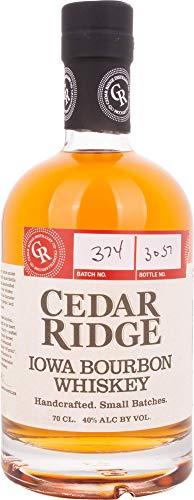 Cedar Ridge Iowa Bourbon Whisky (1 x 0.7 l) - Ridge Master