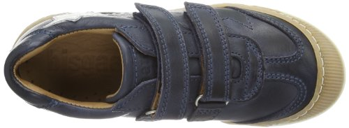 Bisgaard Schuh mit Klettverschluss 40302114 Unisex-Kinder Sneaker Blau (20 Blue)