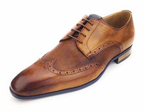 Giorgio Armani Men's 96452-02 Lace-Up Flats