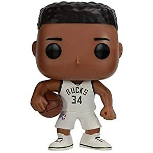 Funko Pop Giannis Antetokounmpo Milwaukee Bucks camiseta verde (NBA 32) Funko Pop NBA