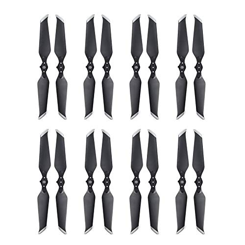 Panamami 8 8743 Pair Low Noise Propeller CW CCW Props Replacement Blade for DJI Mavic 2 Drone Quadcopter Replacement Accessories - White