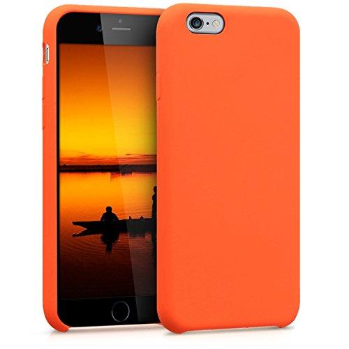 kwmobile Apple iPhone 6 / 6S Hülle - Handyhülle für Apple iPhone 6 / 6S - Handy Case in Orange