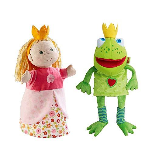 HABA Handpuppen (Froschkönig + Prinzessin)
