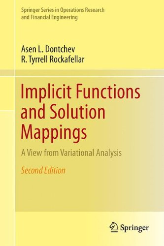 Implicit Functions and Solution Mappings : A View from Variational Analysis