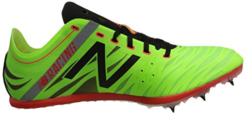 New Balance Men's MD800V4 Track Spike Shoe Lime / Red