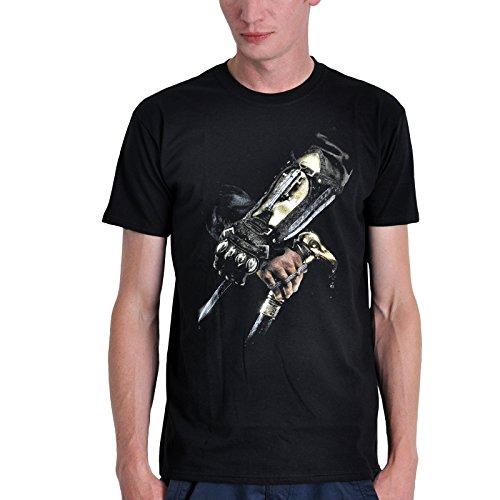 Assassins Creed Syndicate Hidden Blade Black T-Shirt