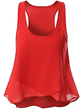 ASCHOEN - Camisas - Sin mangas - para mujer