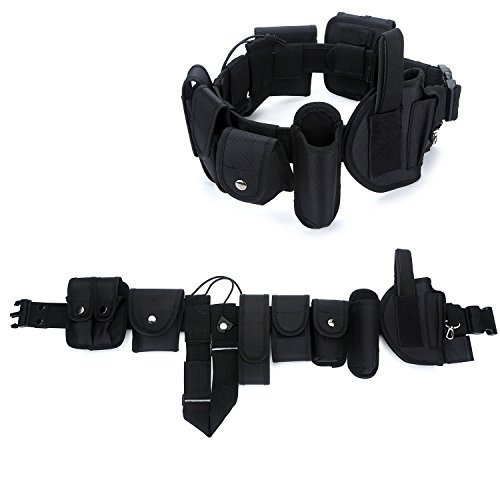 YAHILL Utility Tactical Belt, Insurance Equipment by Police and Law Enforcement, Nylon Combat & Official Heavy Equipment, or Wives Case