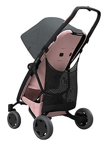 Quinny Xtra Shopping Netz, ganz einfach an der Rückseite des Quinny Kinderwagens oder Buggys zu befestigen, bietet zusätzlichen Stauraum, schwarz