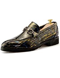 Mocasines planos casuales para hombres Moda Oxford Anti-óxido Decoración Conveniente Zapatos Personalidad Color para