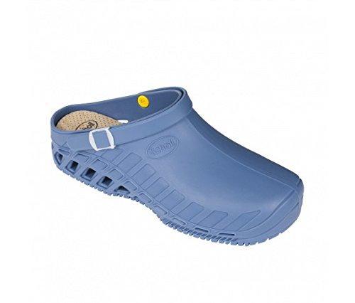 Dr. scholl clog evo scarpe professionali azzurro (38-39, azzurro)