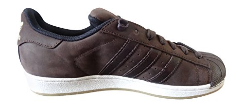 Adidas Superstar Herren Sneaker DBROWN/DBROWN/CBLACK S75539