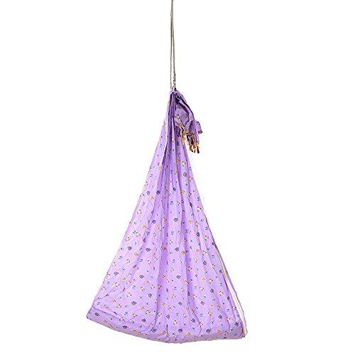 Baybee Premium Hanging Jula - Foldable Swing - Hammock with Mosquito Net (V)