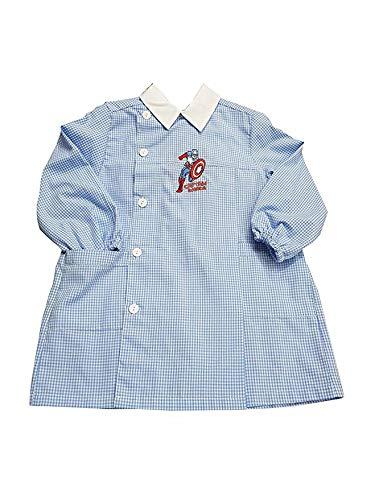 Captain america grembiule scuola materna quadri cielo asilo per bambino (art. u942001) (50-3 anni)
