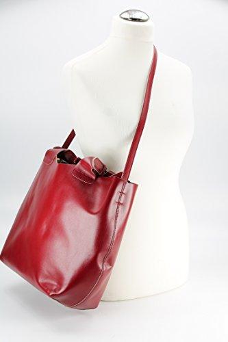 Belli , shoppers femme Multicolore - Bordeaux