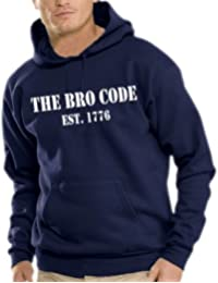 Touchlines Herren How I Met Your Mother - THE BRO CODE Kapuzen Sweatshirt B7153
