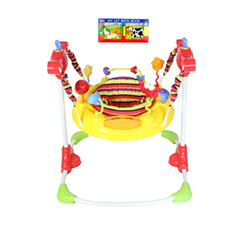 Redkite Deluxe Jumparound Musical Baby Jumper Activity Centre Plus Bath Book Package 41gfraQmrnL