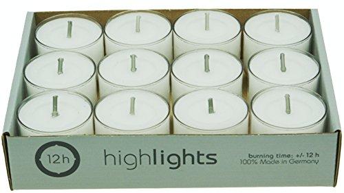 wenzel-kerzen-31-1526-12-highlights-12h-teelichte-paraffin-polycarbonat-weiss-37-x-37-x-43-cm