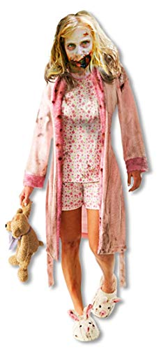 The Walking Dead Zombie Mädchen Kinderkostüm - M-128cm